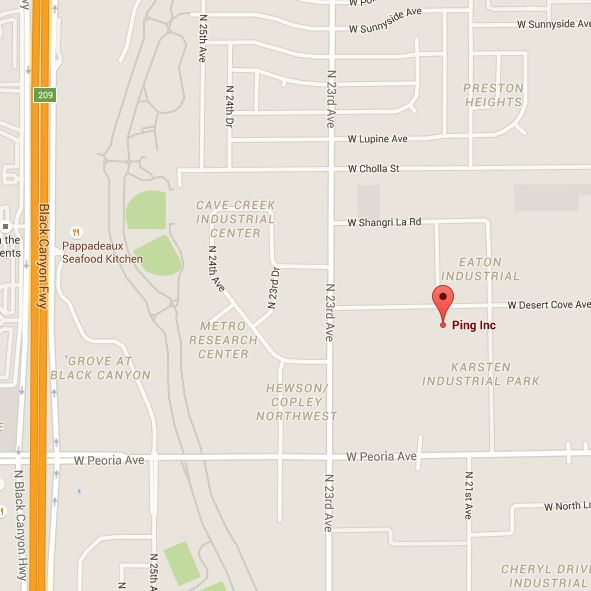 PING Golf in Phoenix - Address, Map and Directions