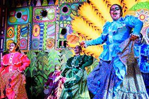 Dia De Los Muertos Festival in Hollywood, CA