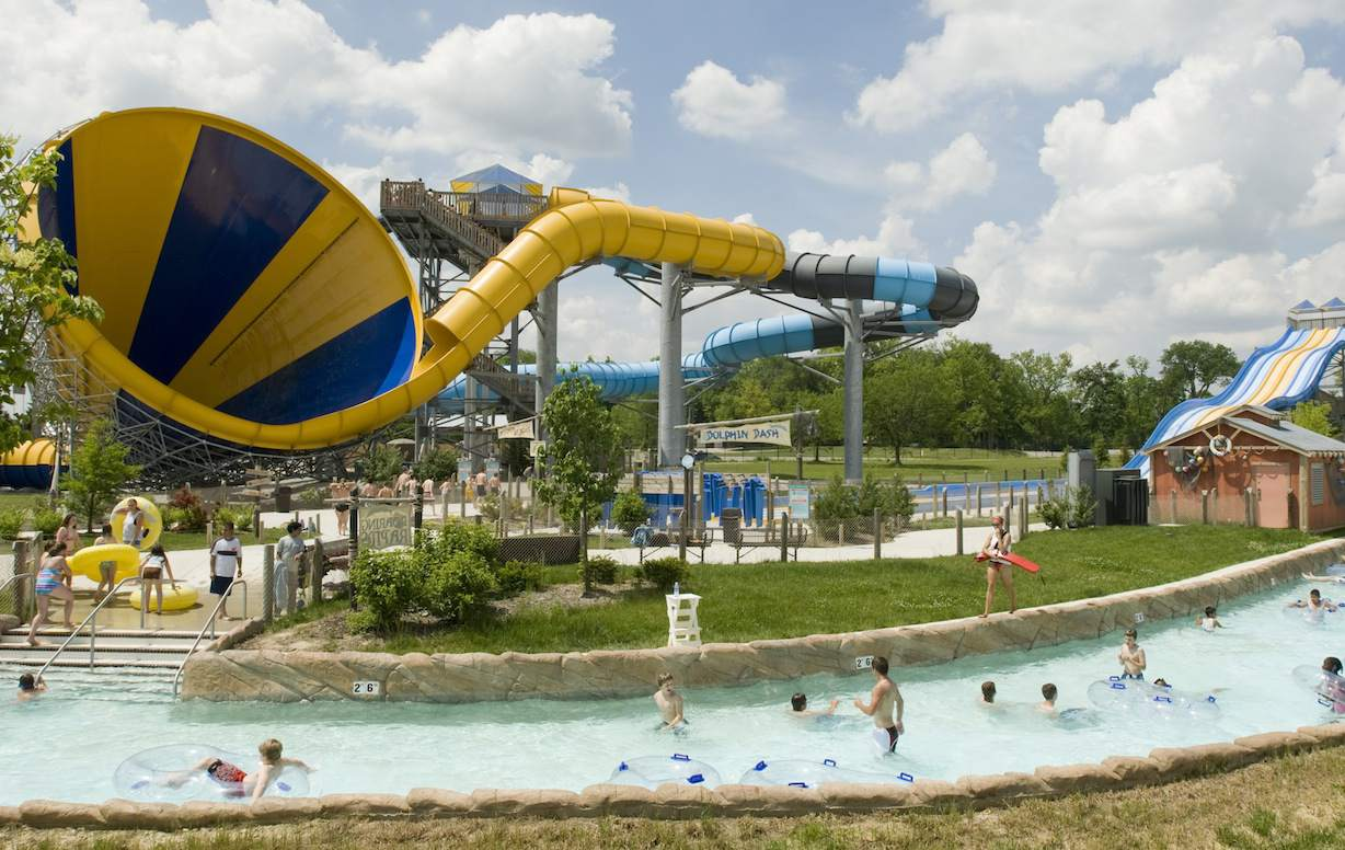 The Cyclone at Zoombezi Bay in Columbus