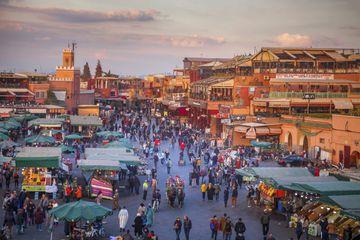 Jemaa el-Fnaa in Marrakesh