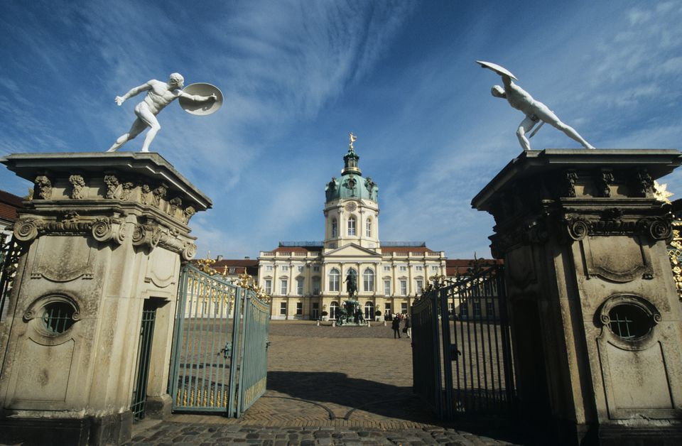 Palacio Charlottenburg de Berlín