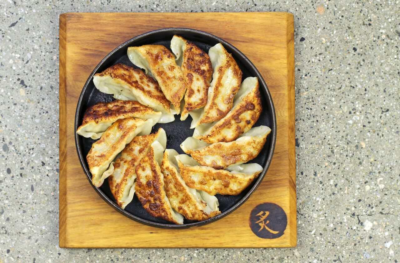 gyoza Japanese dumplings