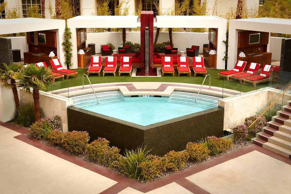 Piscina del hotel Mandalay Bay