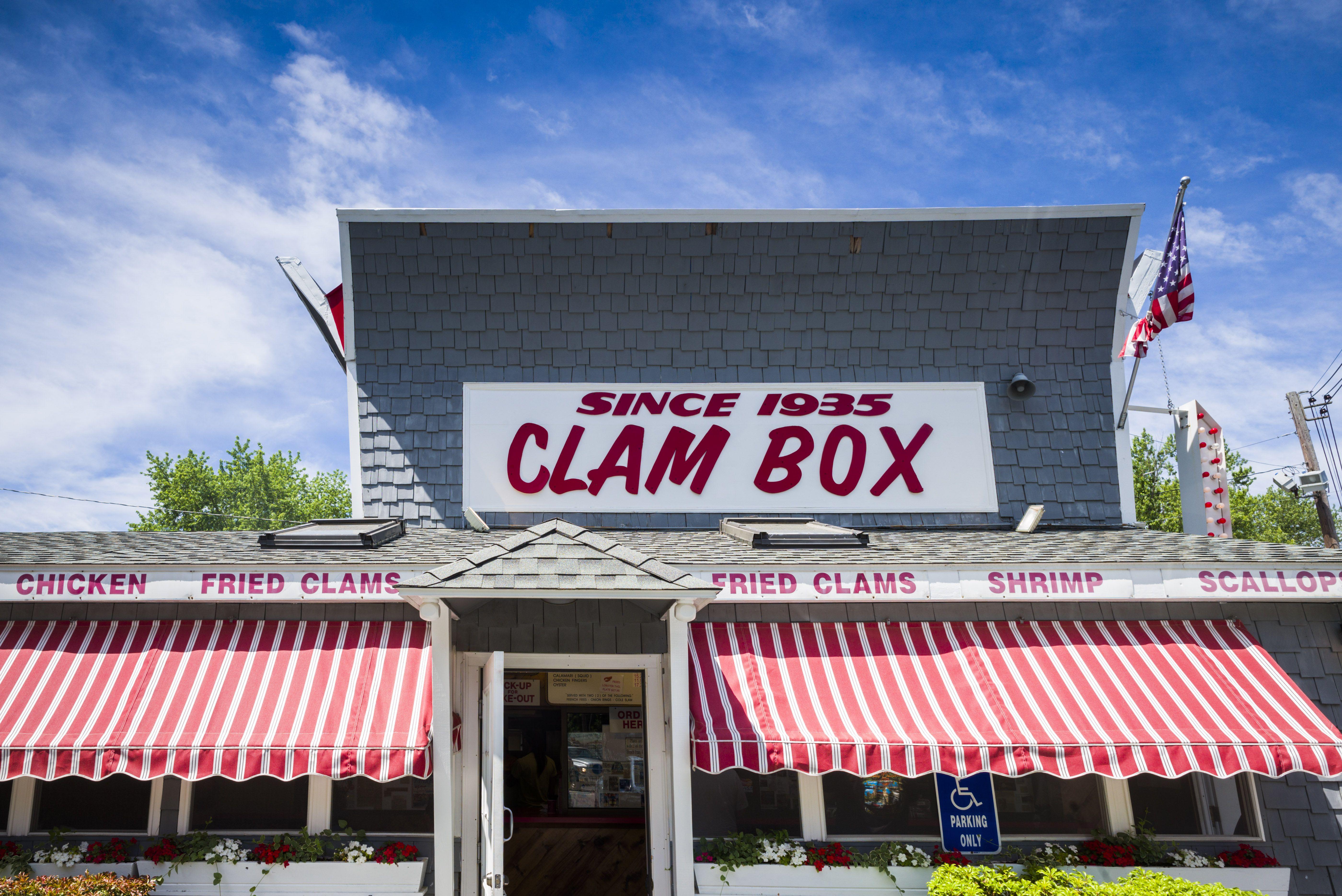 Clam Box restaurant, Ipswich, Massachusetts