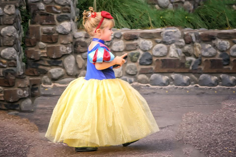 Only Kids Can Wear Costumes at Disneyland