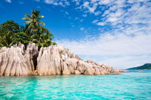 St. Pierre Islands in Seychelles