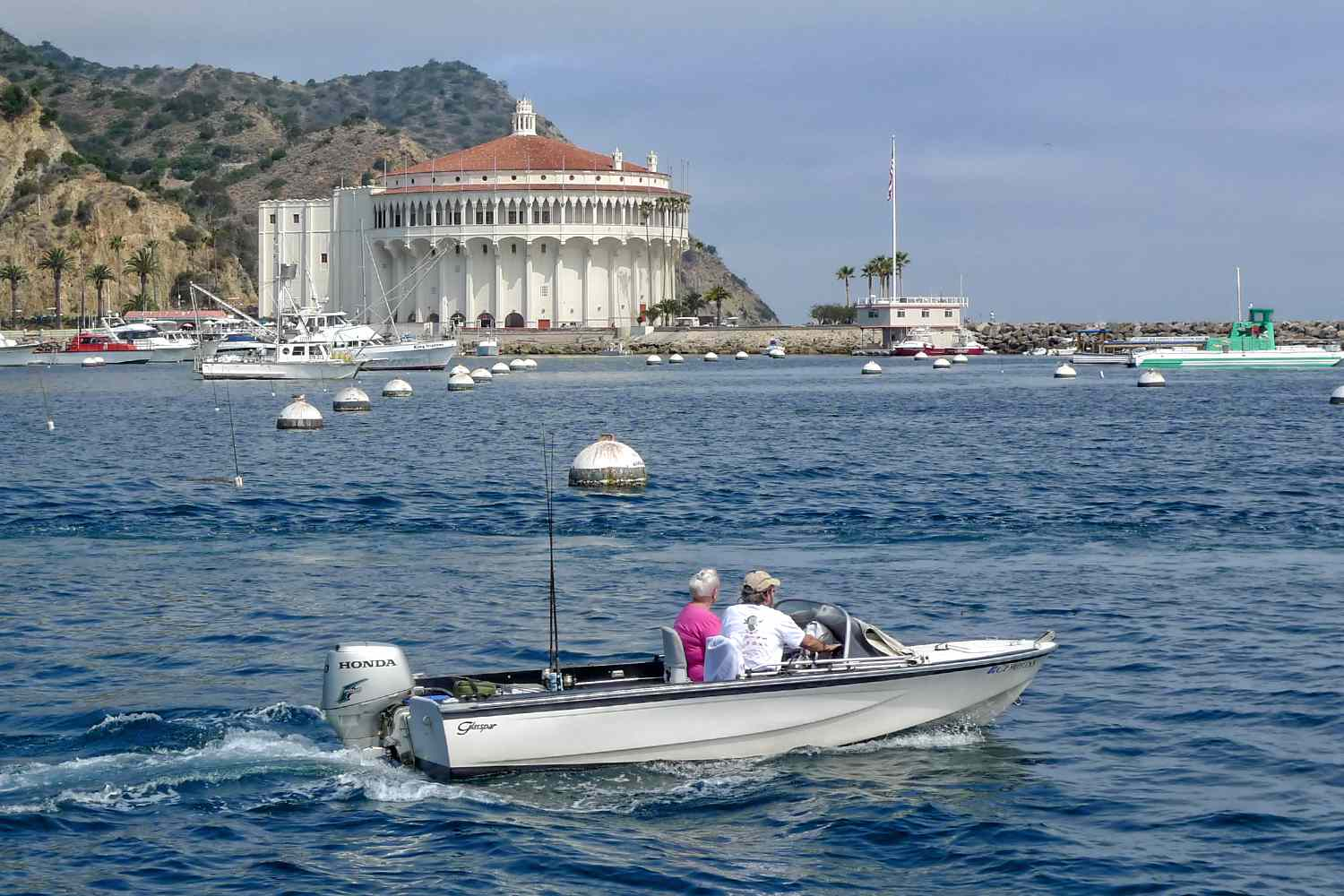 Catalina Casino from the Water