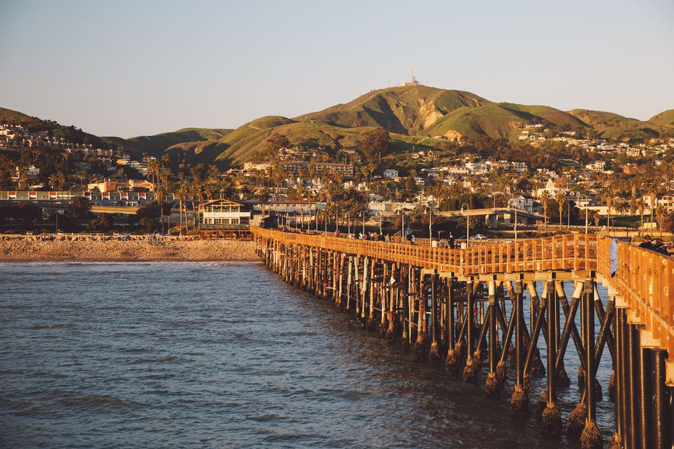 Scenic View of Ventura, California