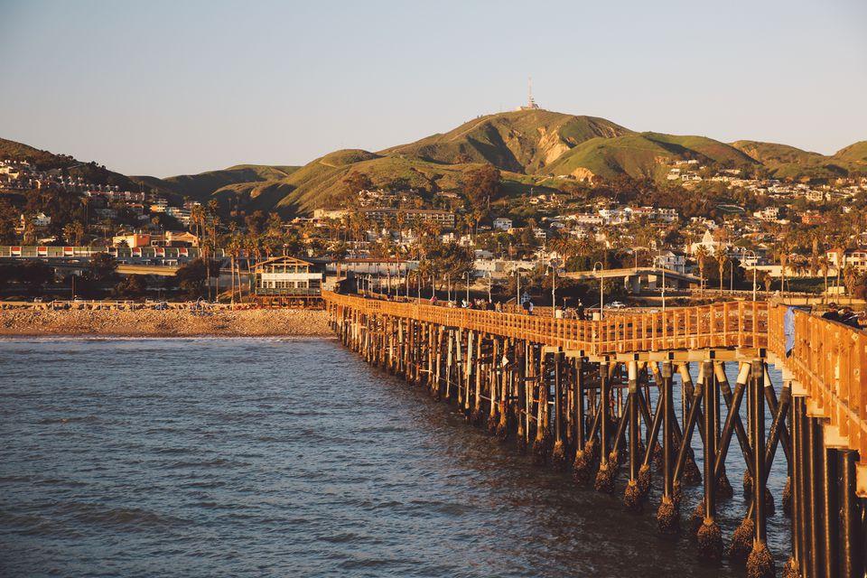 Vista panorámica de Ventura, California