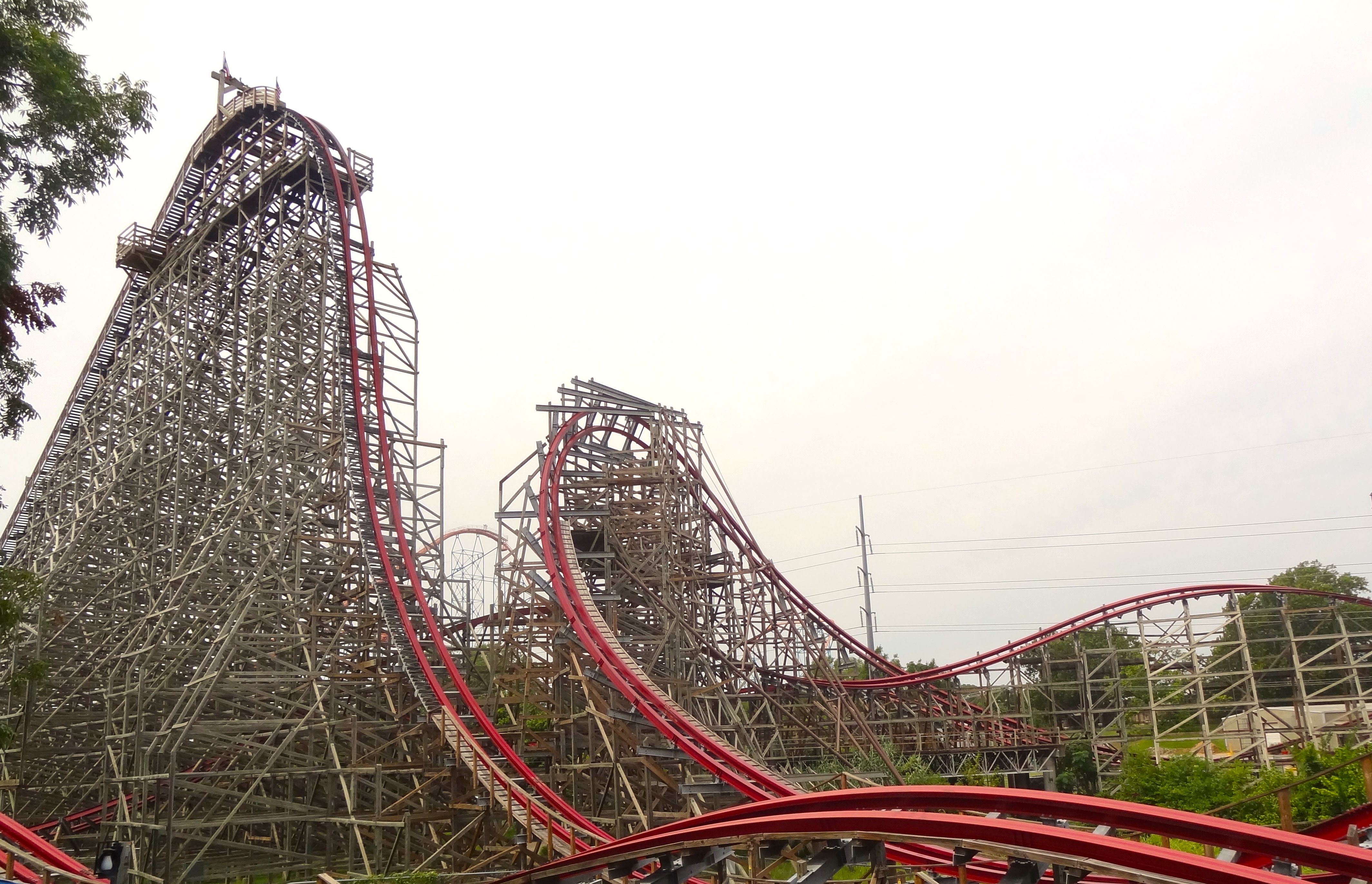 New Texas Giant coaster