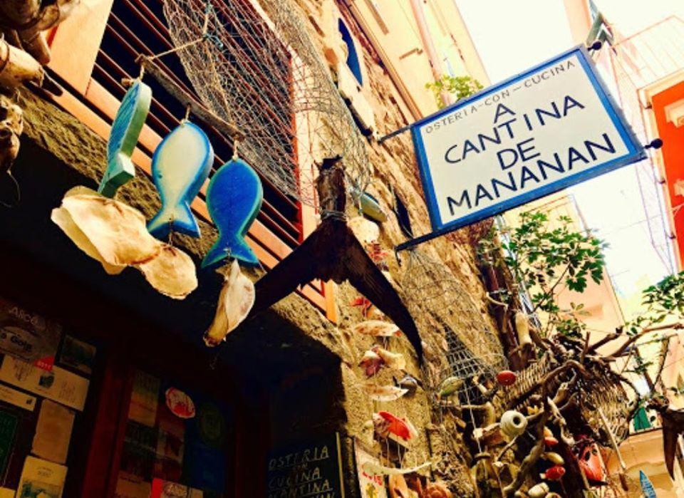 Exterior of Osteria A Cantina De Mananan - Corniglia