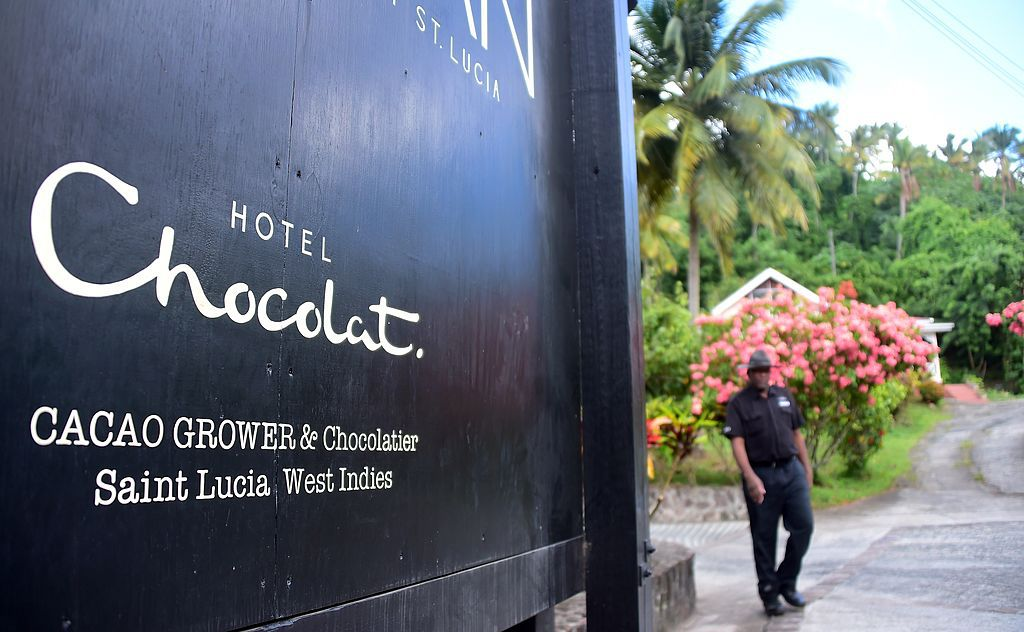 Sign for Hotel Chocolat