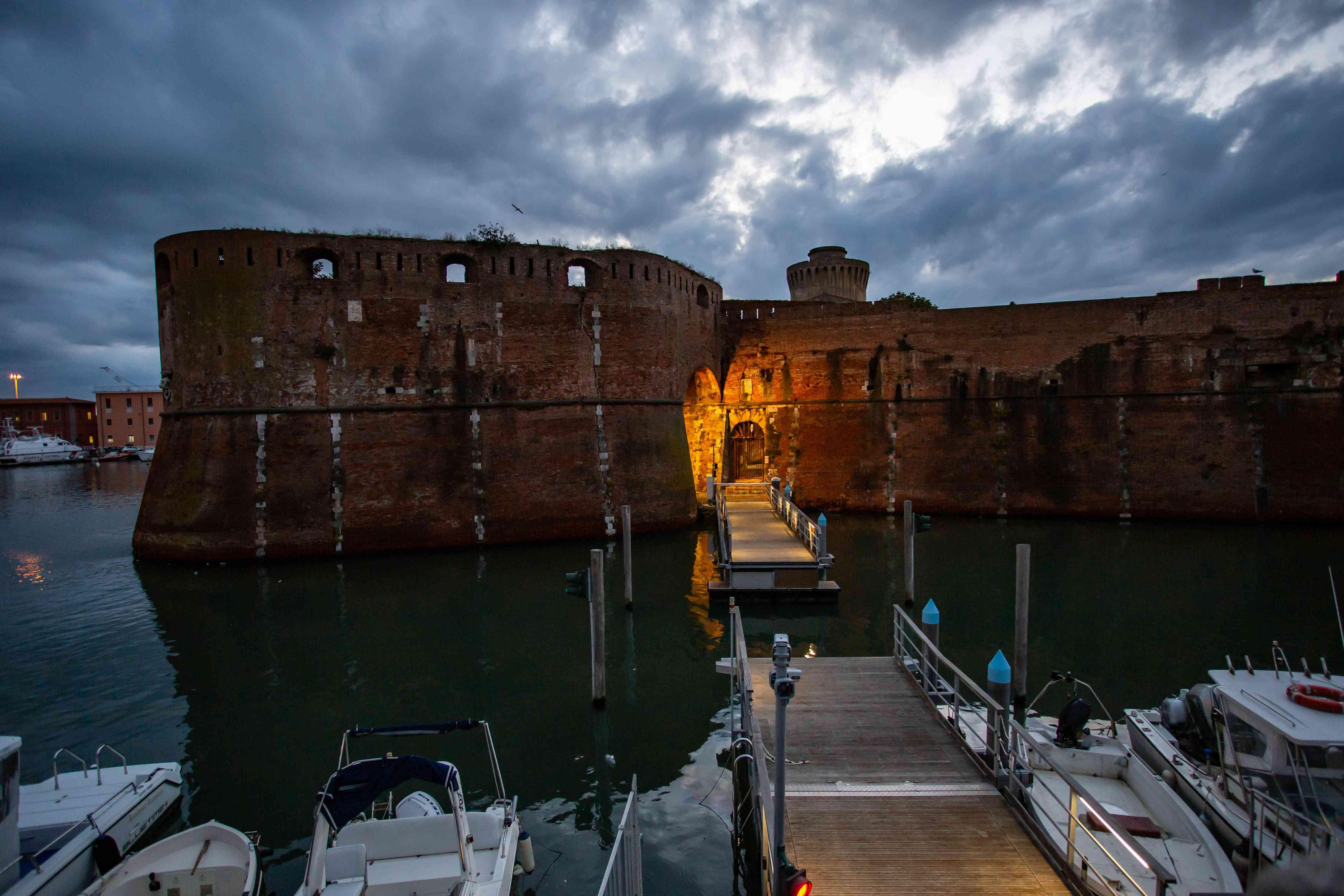 Fortezza Vecchia in Livorno, Tuscany, Italy