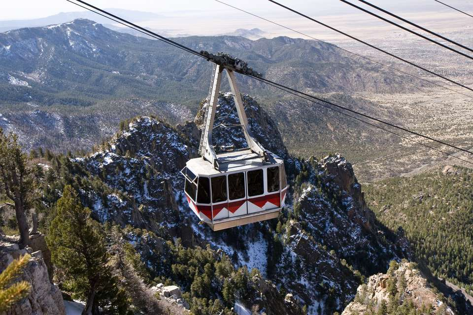 Sandia Peak Tramway (Cable Car)