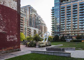 Liberty Village Park in Toronto