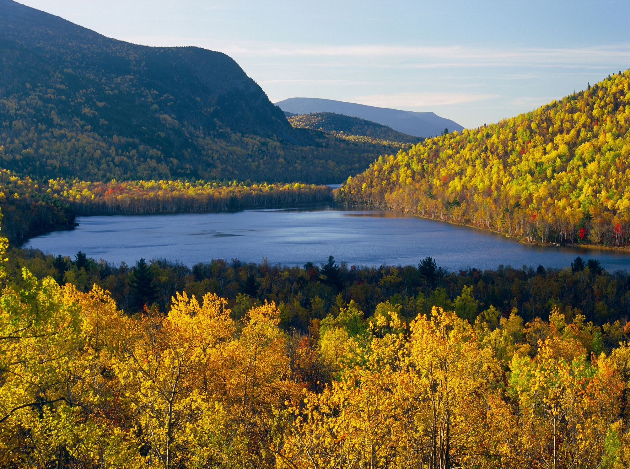 Fall colors around Southbranch, Baxter State Park