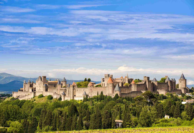 Francia, Languedoc-Rosellón, La ciudad fortificada de Carcasona