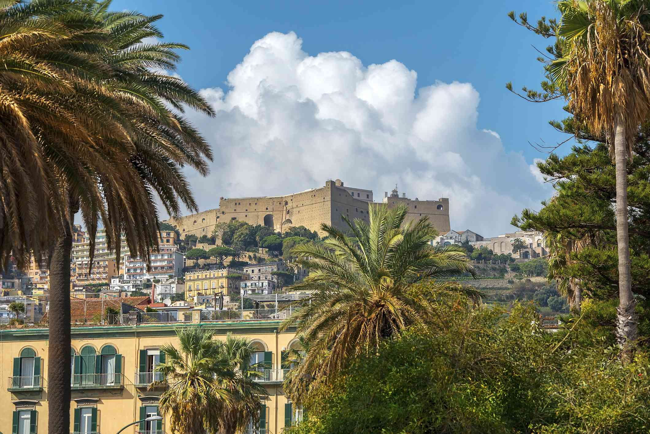 Hilltop Castel Sant'Elmo