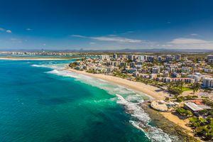 Aerial image of Kings beach, Caloundra, Australia