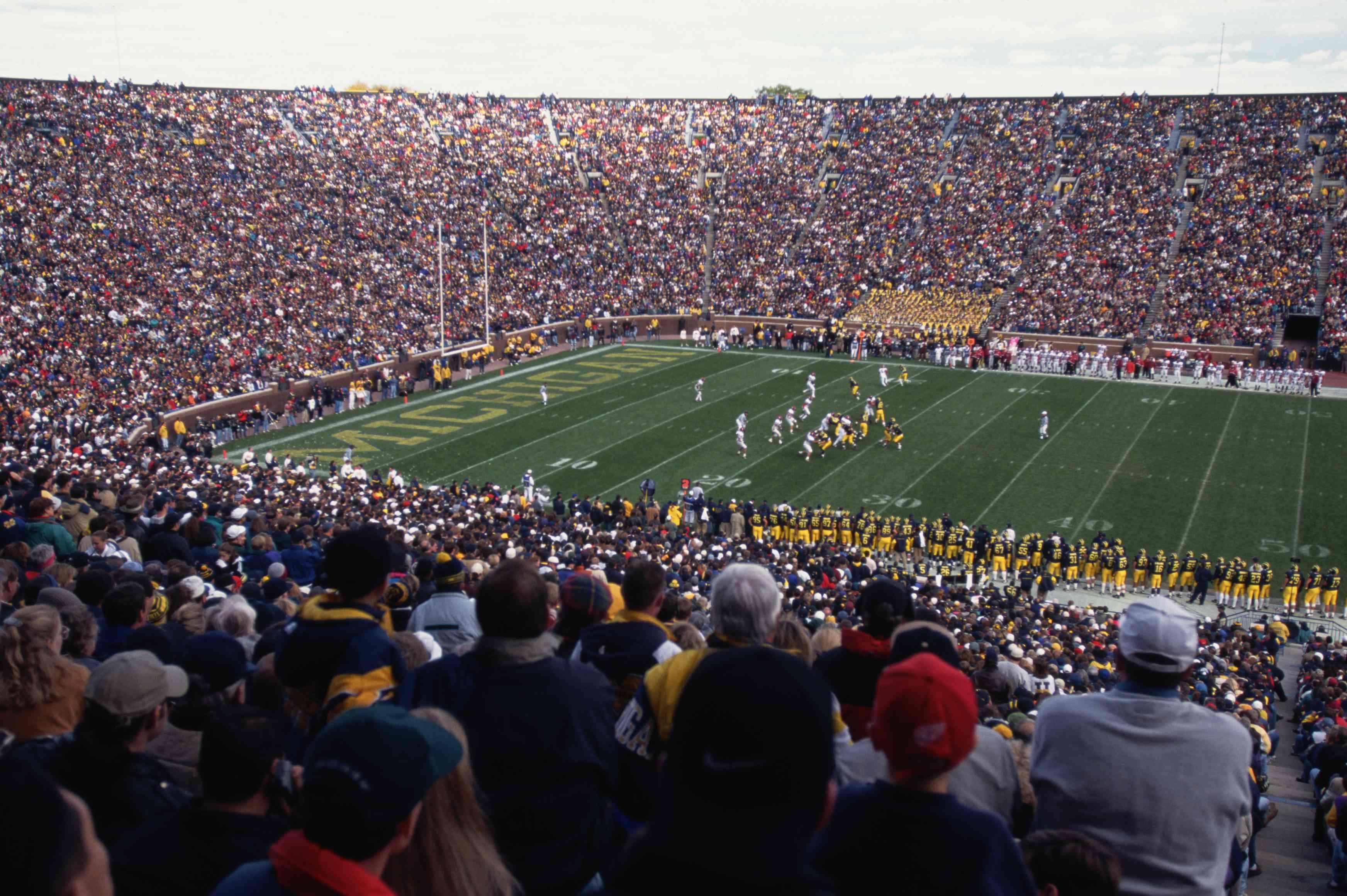 Estadio de fútbol de la Universidad de Michigan