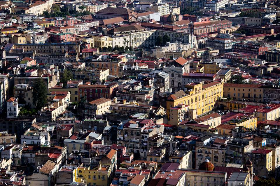 Spaccanapoli District in Naples, Italy