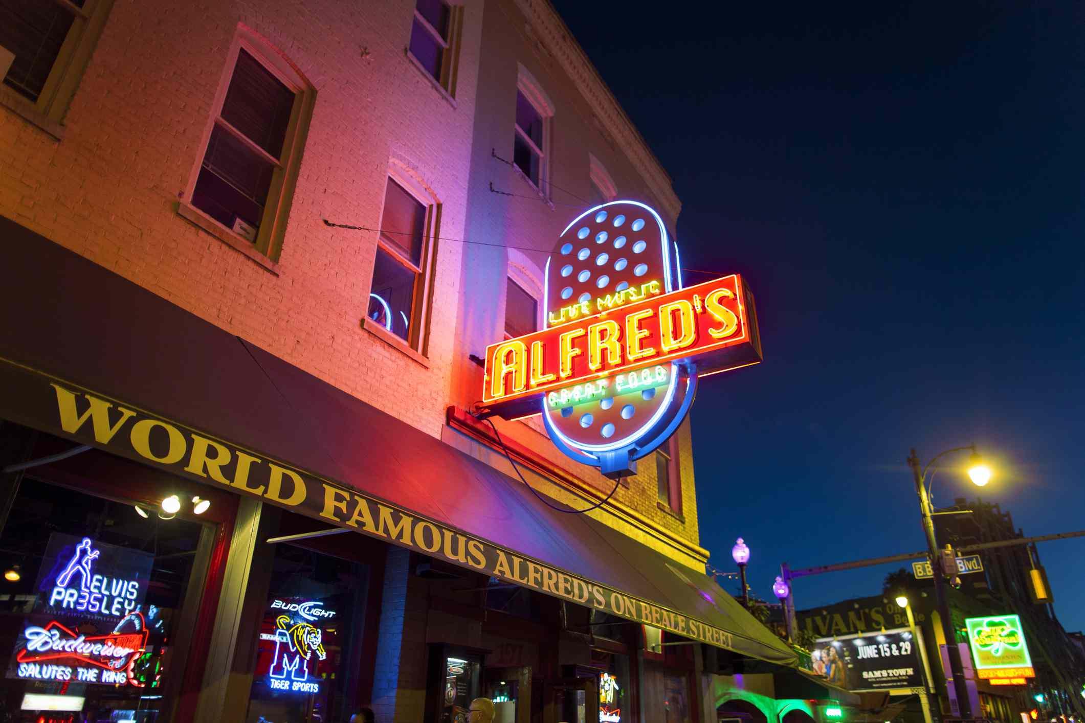 Alfred's on Beale Street, Memphis, TN