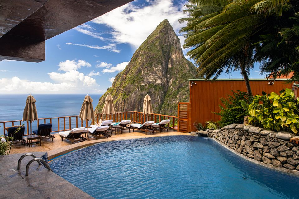 Ladera Resort in St Lucia