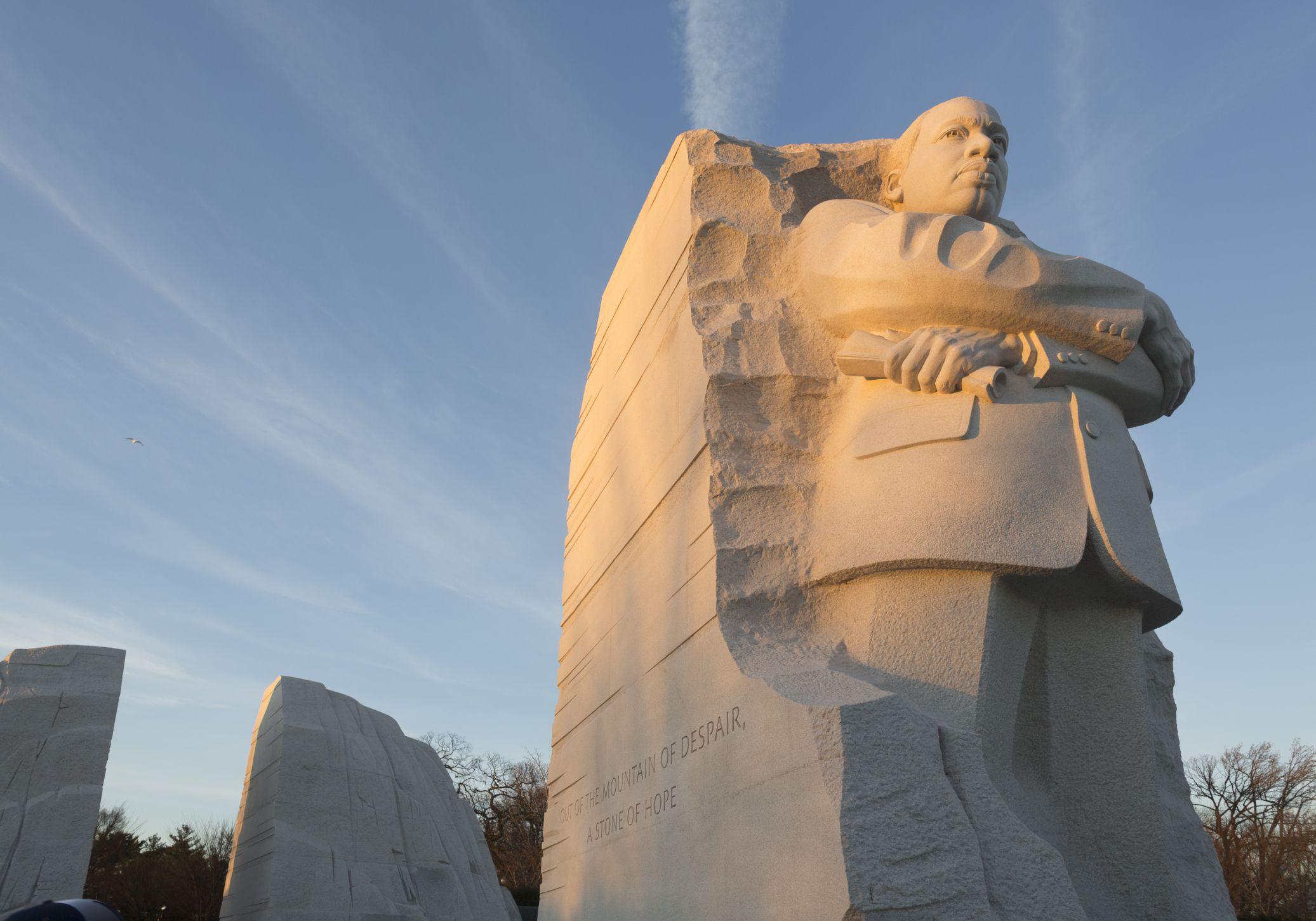 Martin Luther King Jr Memorial In Washington Dc