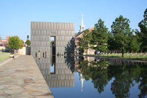 The Oklahoma City Memorial in Oklahoma City