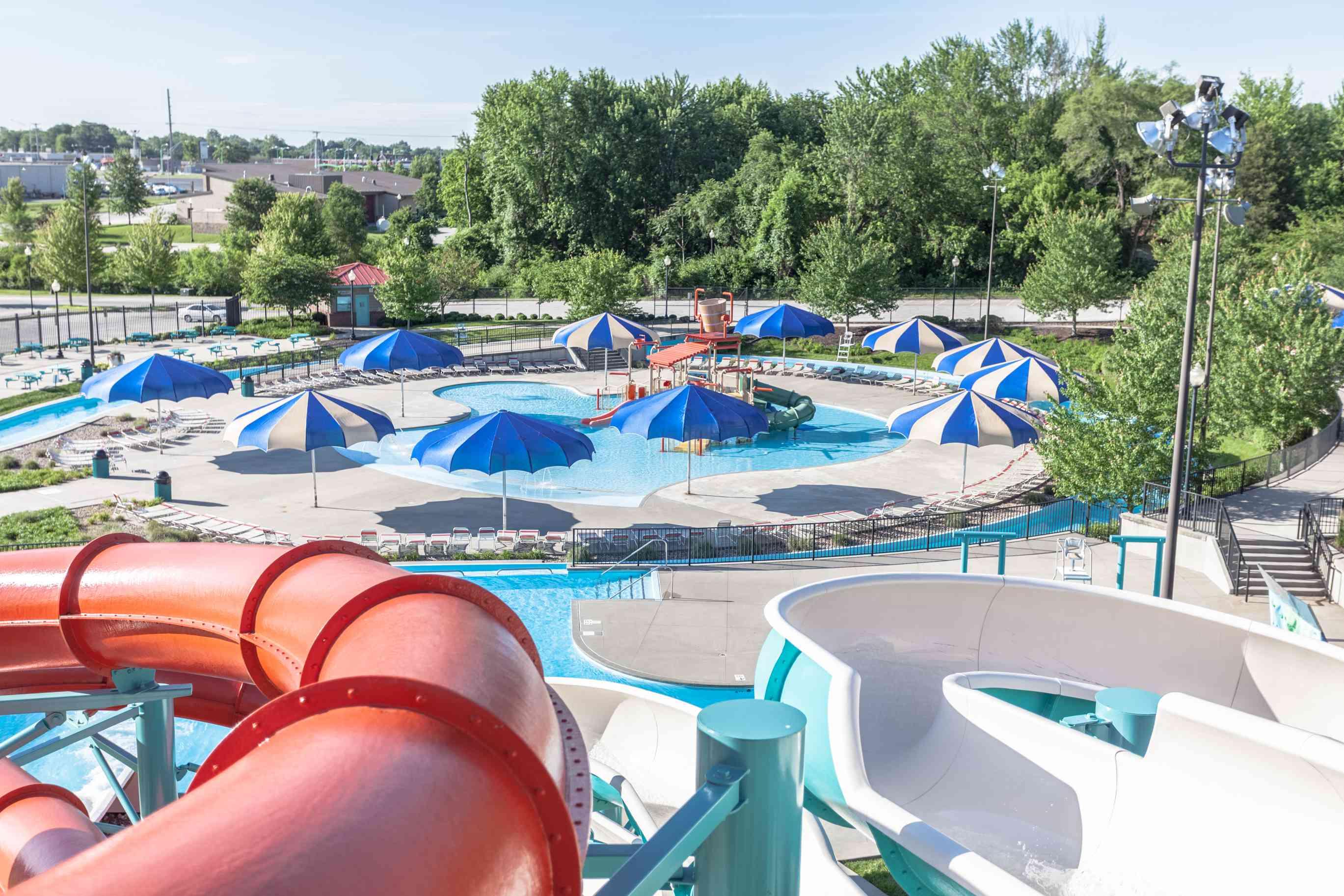 Adventure Oasis water park in Missouri