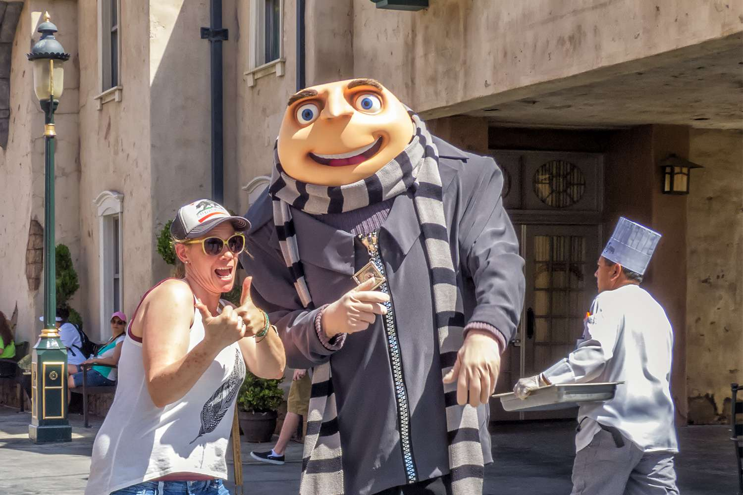 Meeting Gru from Despicable Me at Universal Studios Hollywood