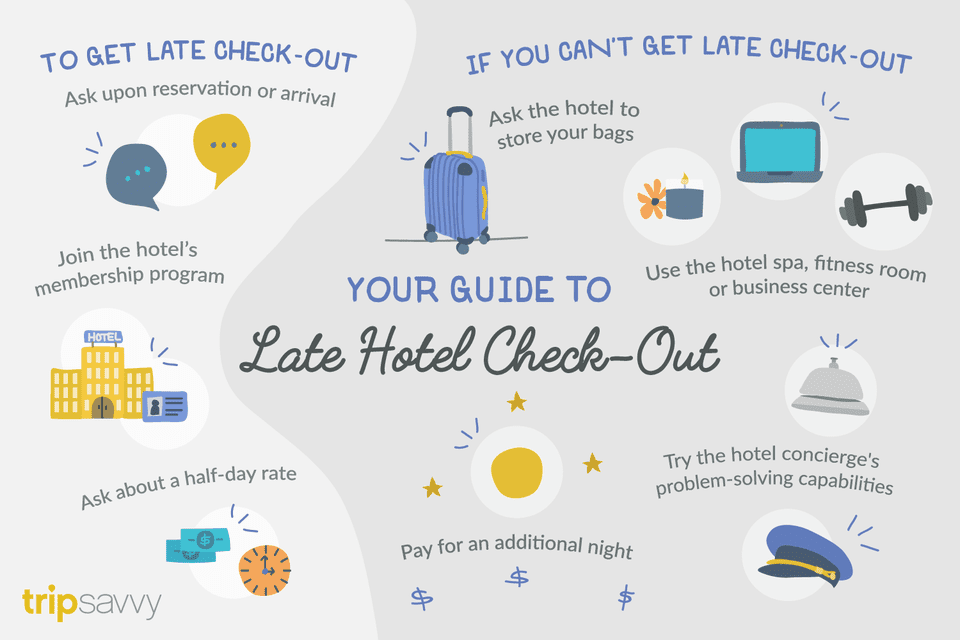 How To Get Late Check Out At A Hotel