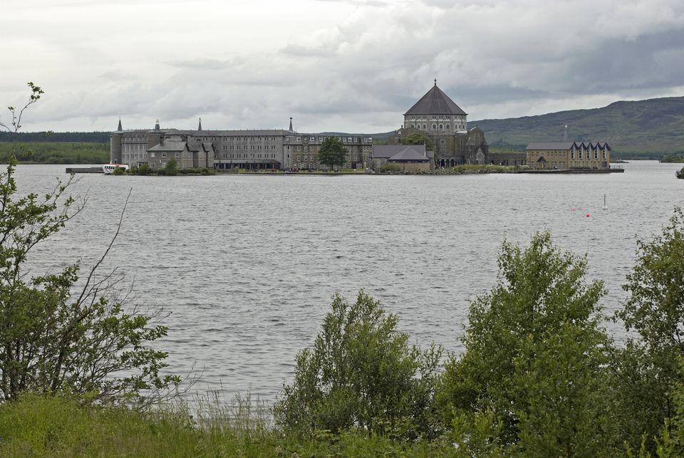 St Patrick's Purgatory, Station Island, Lough Derg, County Donegal, Ireland
