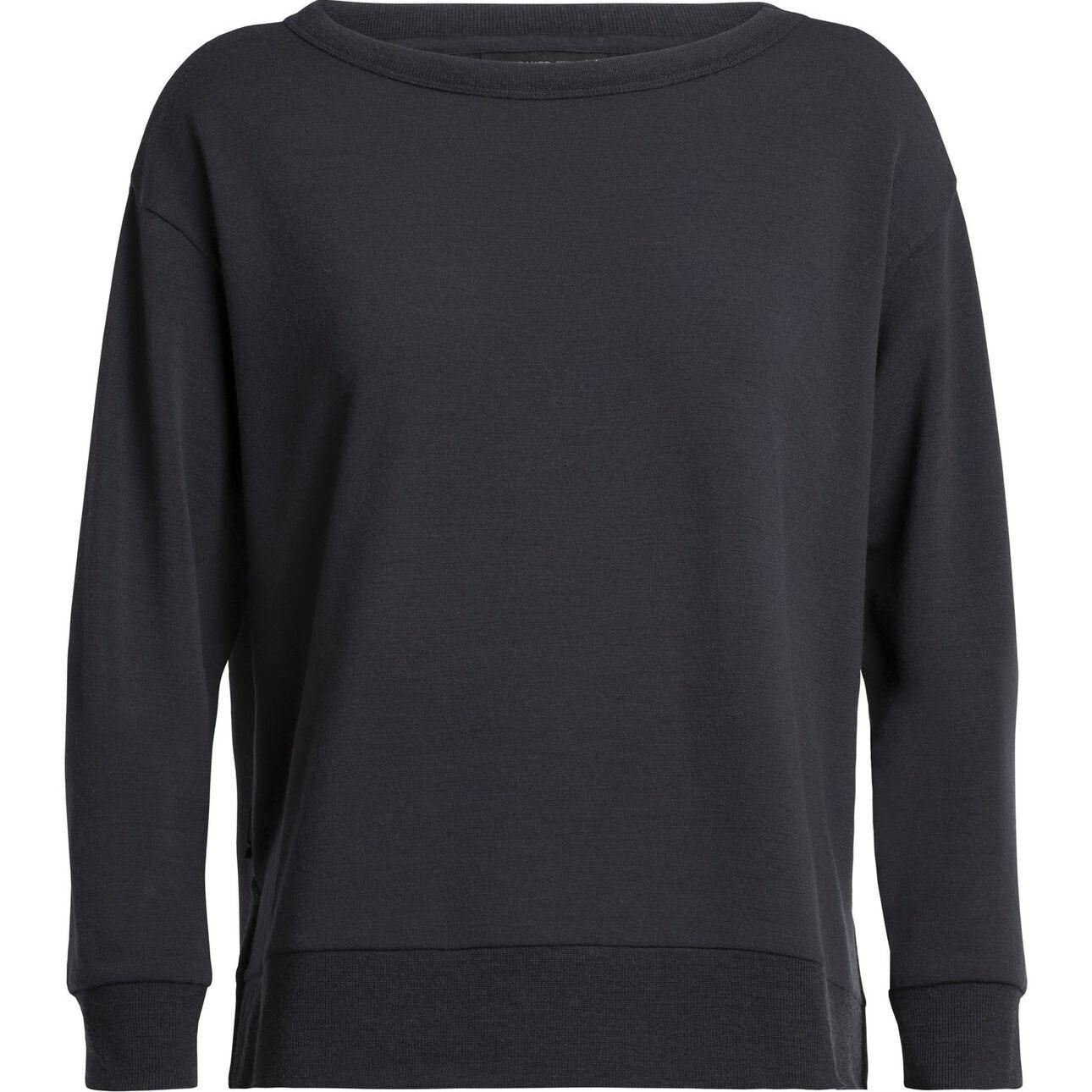 Icebreaker Women's RealFleece® Merino Long Sleeve Crewe Pullover