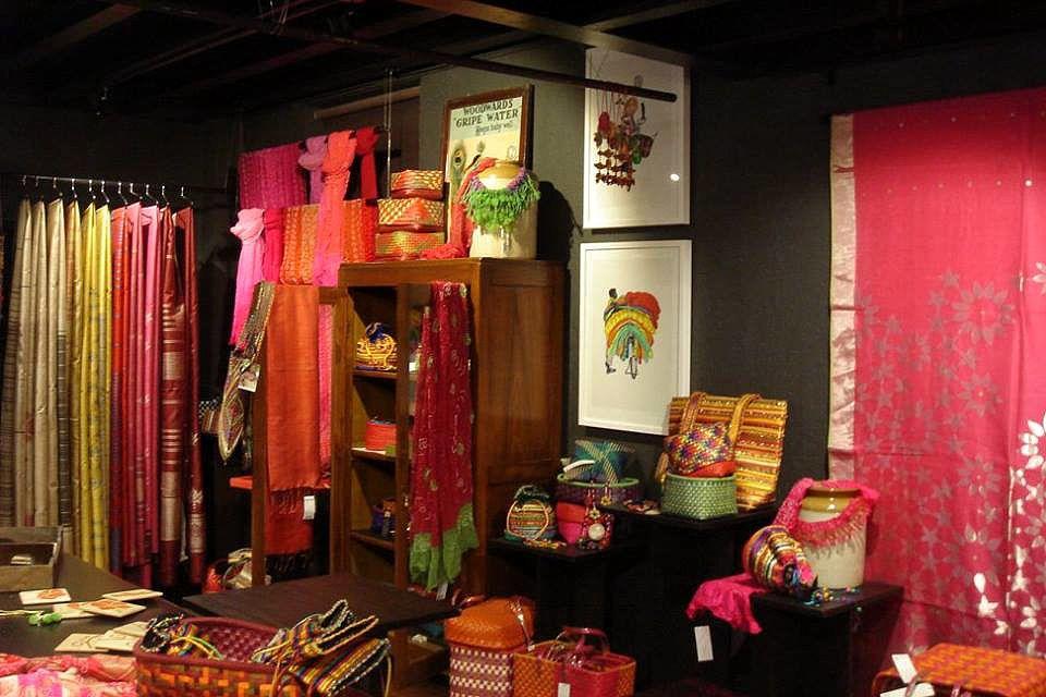 Artisans' shop interior