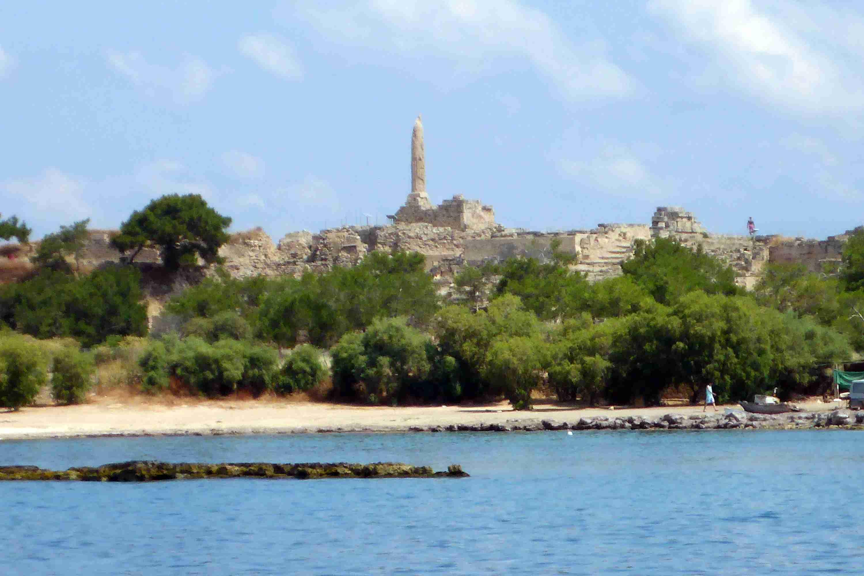 Temple of Apollo on Aegina Island, Greece