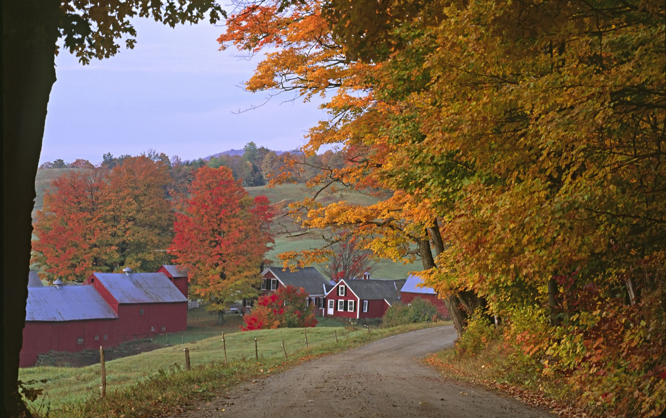 Photographing Jenne Farm In Vermont
