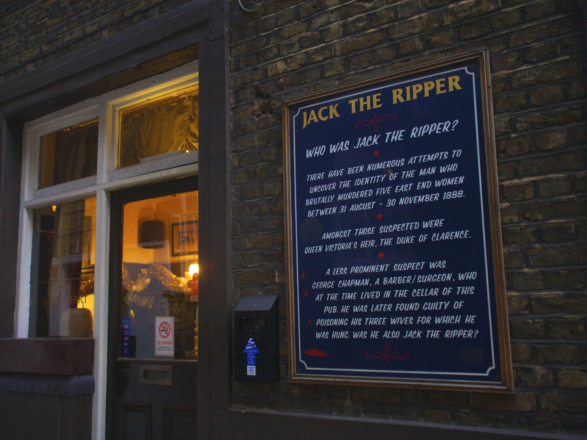 The Best Jack The Ripper Tour In London