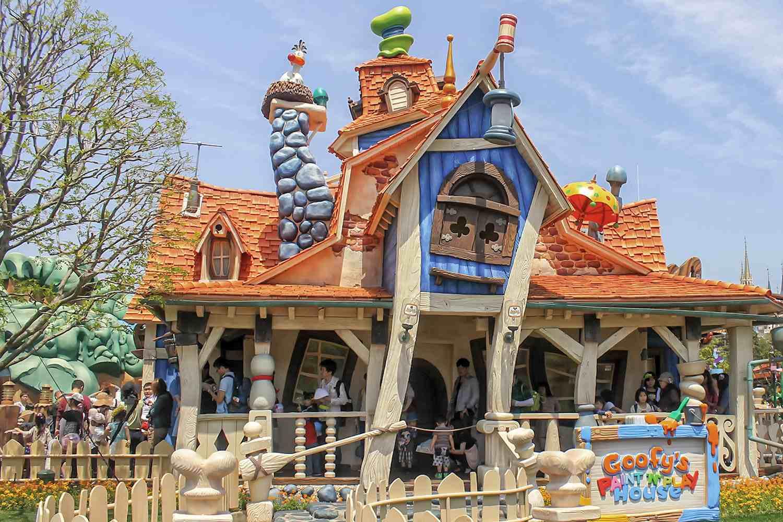 Goofy's Playhouse en Toontown