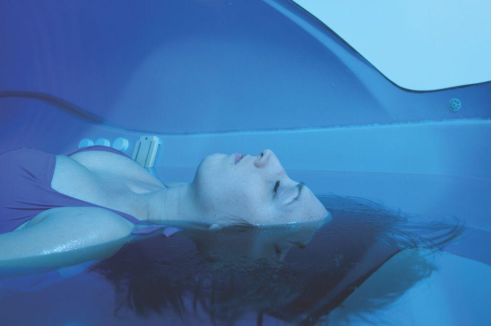 Sensory deprivation floating pool at Ovarium