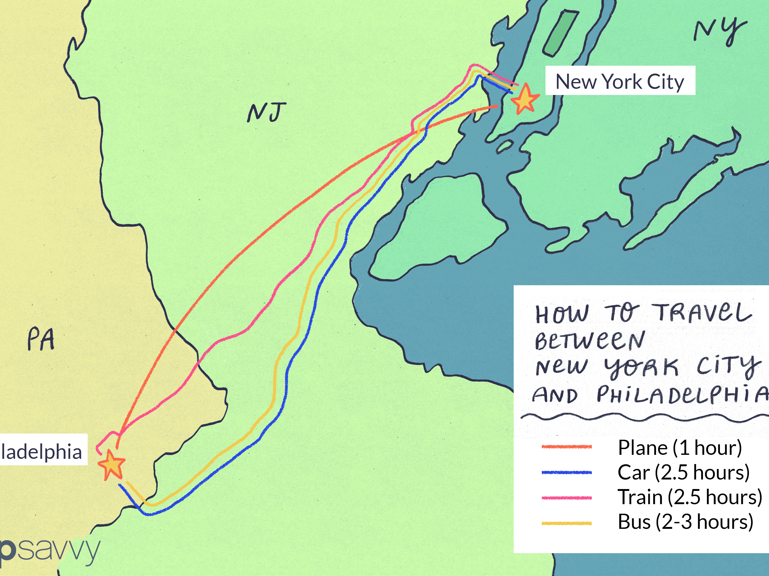 Getting to and From New York City and Philadelphia on map of ny towns, map york pa, map of new jersey and pennsylvania border, map of ny and pennsylvania, map of western pennsylvania railroads, map of pennsylvania pa, map of upstate new york, map of ohio and ny, map ohio pennsylvania and new york, map of ma and ny, map of pennsylvania with cities, map of ny and ct, map of connecticut and new york new jersey, new york map binghamton ny, map of nj ny border, map of westfield pa, map of western pa, map of vt and ny, map of pennsylvania and new york state, map of nc and ny,