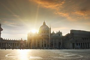 St Peters Square, Vatican, Rome, Italy