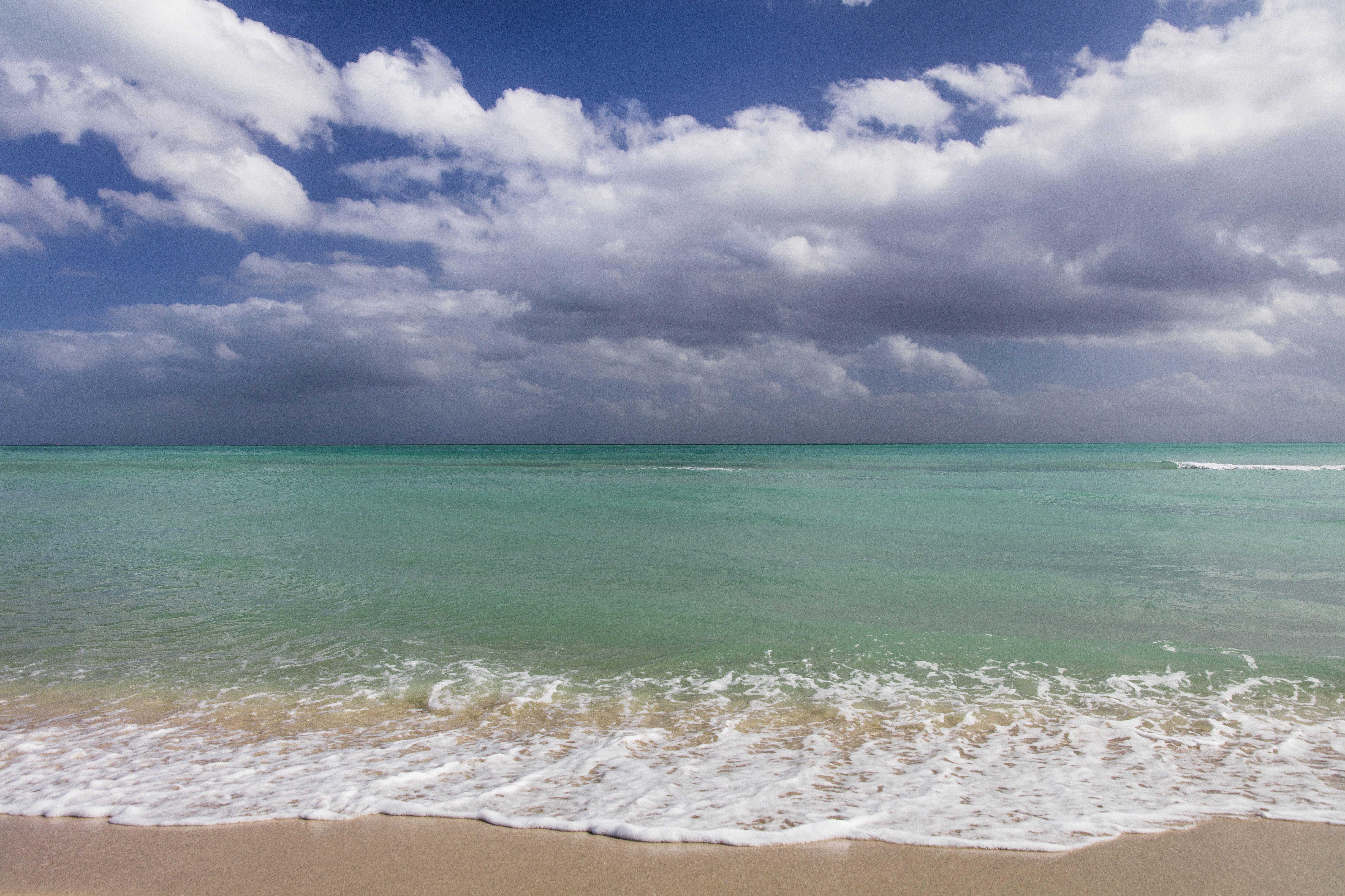 Surfside beach in Miami