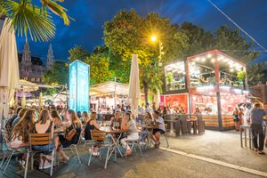 Nightlife in Vienna is both relaxed and vibrant.