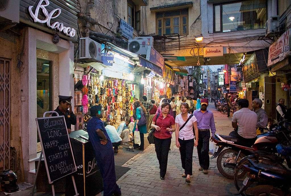 El mercado Khan disfruta la última temporada turística de Delhi
