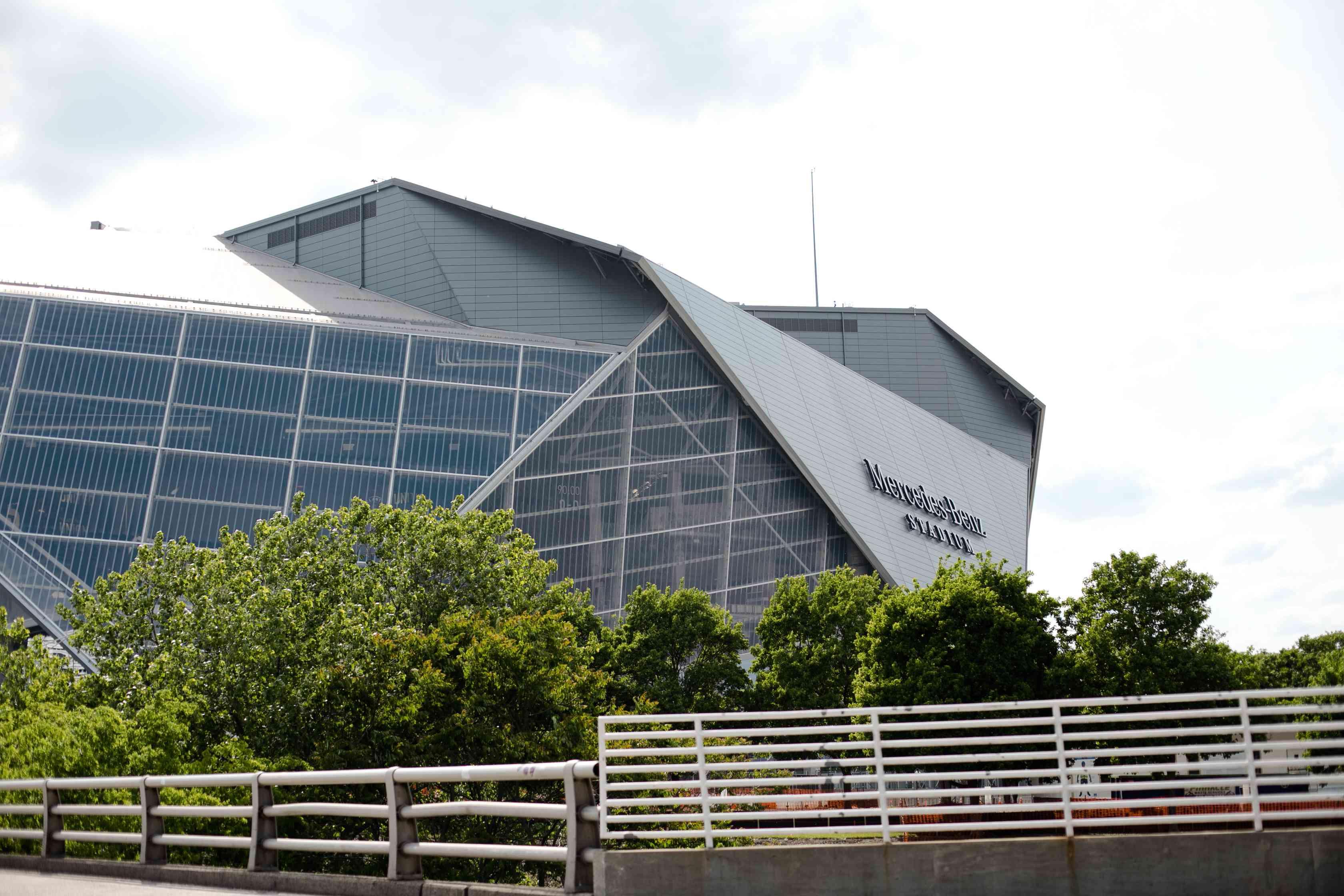 Meredes-Benz Stadium in Atlanta, Georgia