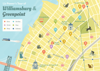 Map Of New York City For Tourists.New York City Travel Guide