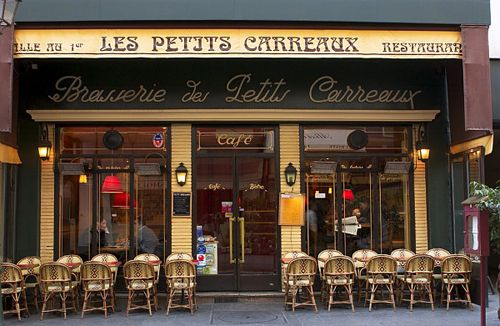 This cafe is blessed with a central, first-arrondissement location