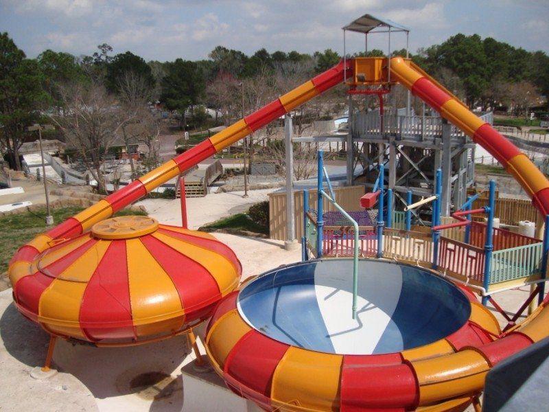 Six Flags Hurricane Harbor Splashtown water park