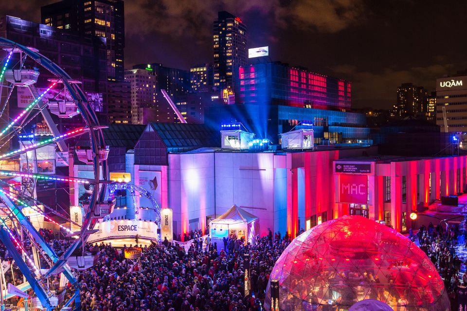 Free things to do in Montreal March 2017 include Nuit Blanche.